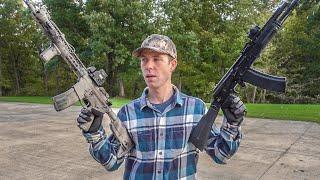 AR15 vs AK74 Ballistics Test! (5.56x45 vs 5.45x39)