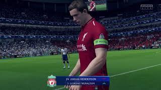 [실황] [Switch] 피파19 유럽 챔피언스리그 준결승 2차천 토트넘:리버풀