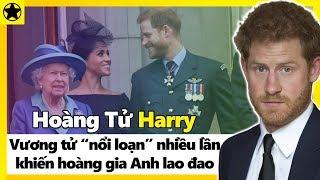 """Hoàng Tử Harry - Vương Tử """"Nổi Loạn"""" Và Những Lần Khiến Hoàng Gia Anh Lao Đao"""