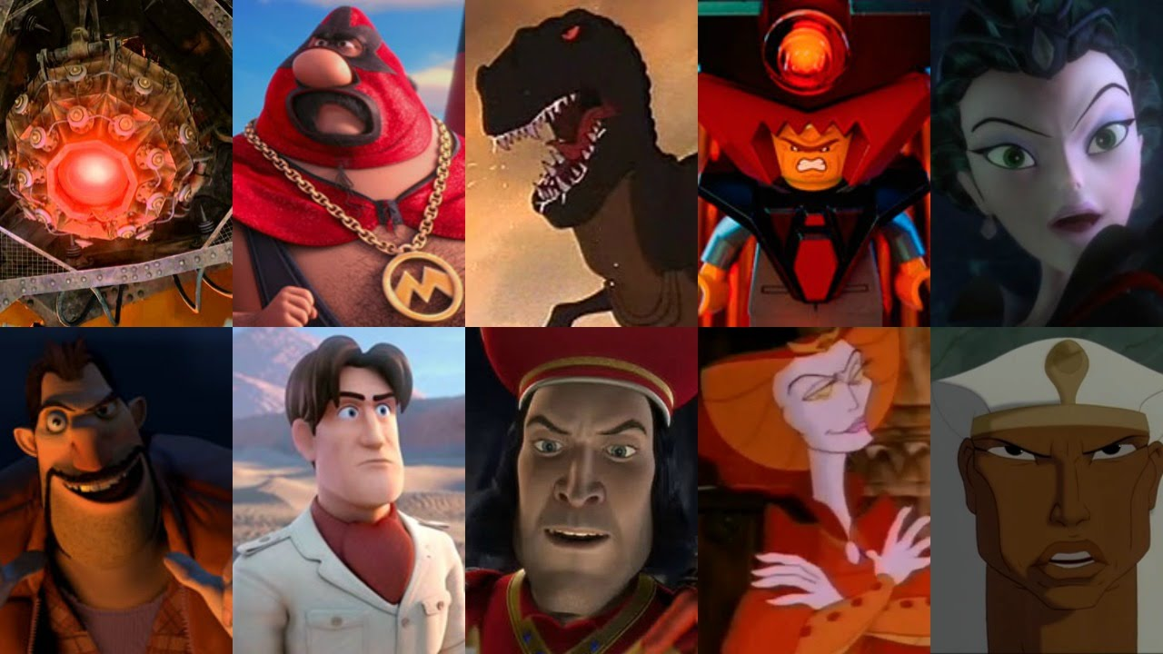Defeats of my Favorite Animated Non-Disney Movie Villains Part V