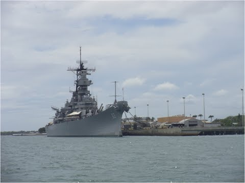Pearl Harbor Naval Base In Oahu Hawaii/Base Naval Pearl Harbor En Oahu Hawai (Part 1/Parte 1)