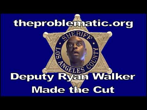 theproblematic Los Angeles Sheriff Deputy Ryan Walker Makes the Cut Support POETIC