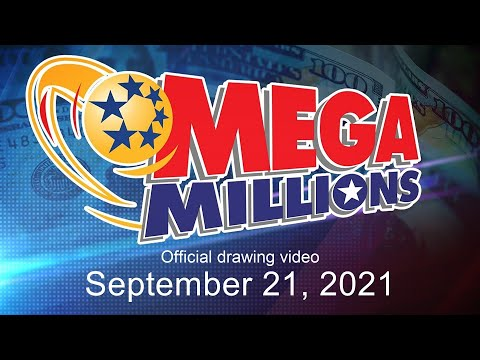 Mega Millions Drawing For September 21, 2021