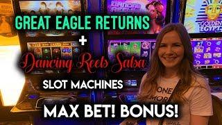 DANCING Reels Salsa! Slot Machine! Max Bet BONUS!