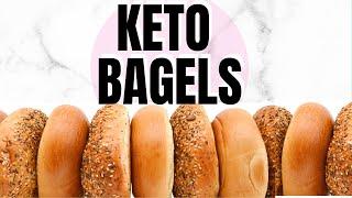 Keto Bagels With Almond Flour | Keto Bagel Recipes | Ketogenic Bread Recipe