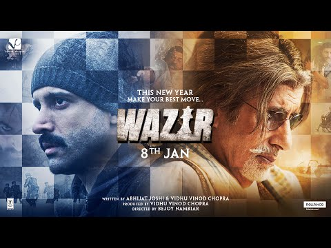 Wazir - Official Trailer