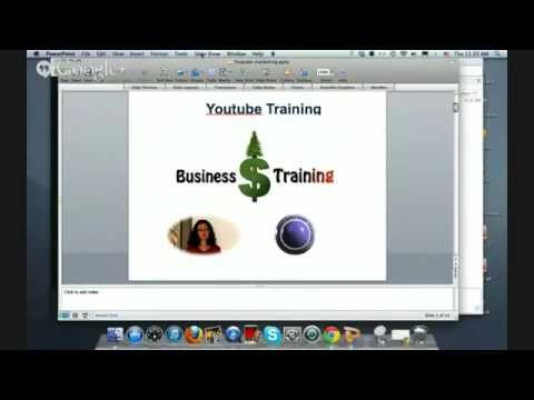 Youtube training for businesses by Northwest Business Training
