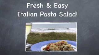 Italian Pasta Salad Recipe. Simple, Fast & Fresh!