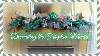 ❄ Decorating The Fireplace Mantel ❄ | Trailer