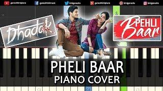 Pheli Baar Yad Lagla Song | Dhadak Sairat | Piano Cover Chords Instrumental By Ganesh Kini