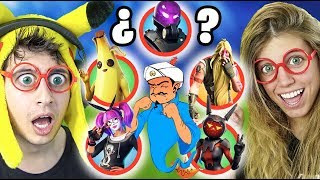 You can Akinator AFlead these Fortnite Battle Royale SKINS!?? (Season 9 - GUESS WHO CHALLENGE)