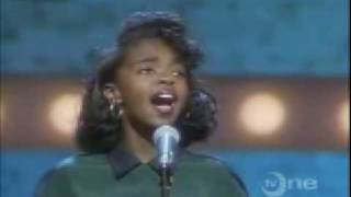 Lauryn Hill at 13 sings Who