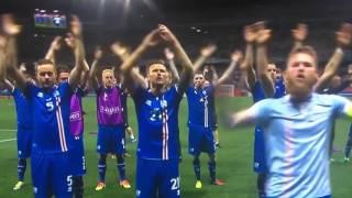 Power-Posen im Fu?ball: so gewann Island gegen England bei der EM2016
