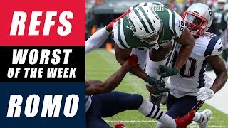 NFL Worst of the Week: Reffing or Announcing?