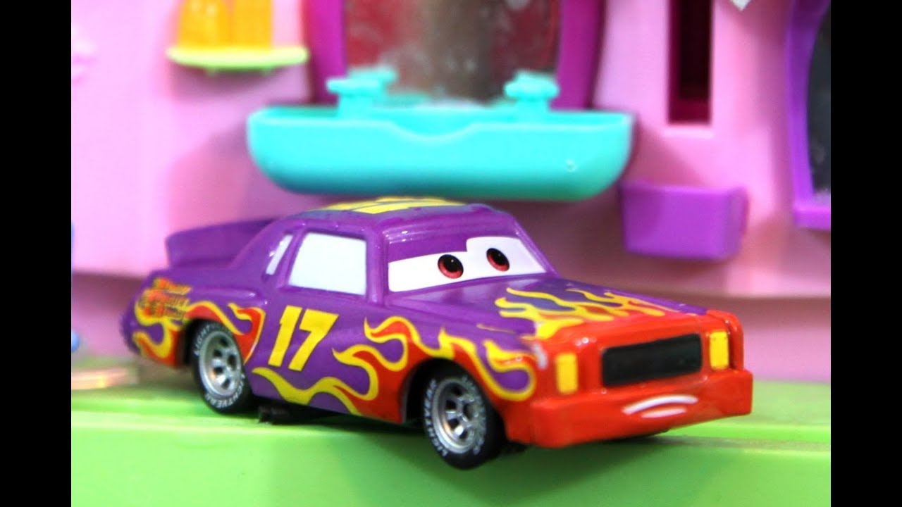 Cars Color Changers: DISNEY CARS Color Changers Car Wash With Polly Pocket Toy