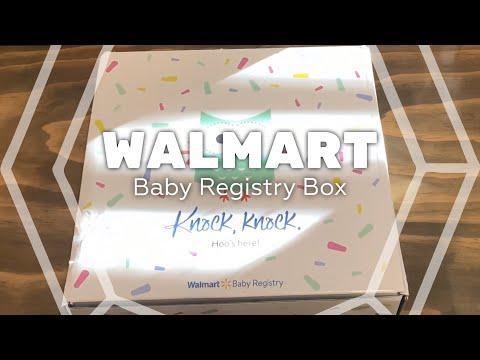 2020 FREE Walmart Baby Registry Box