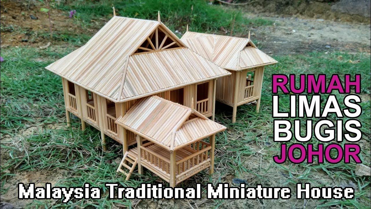 Johor Traditional House Replica Malaysia Rumah Limas