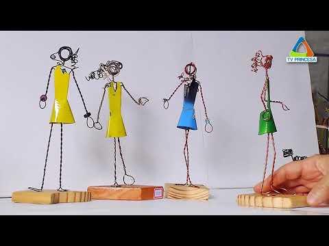 (JC 16/02/18) Artista transforma arame e latas em objetos de decoração
