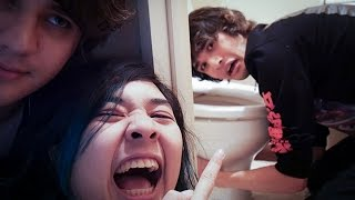 FORCING IDIOTS TO DRINK TOILET WATER.
