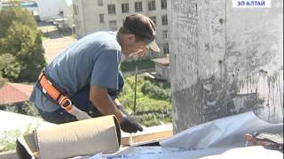 видео В крыша в аварийном состоянии  (Стены падают, но где ТСЖ?)