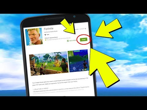Fortnite MOBILE Android RELEASE Update Downloads (The Problem)
