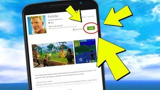 Fortnite MOBILE Android RELEASE Update Downloads (Das Problem)