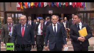 LIVE: EU leaders meet in Brussels as Russian sanctions due to expire: Press conference (Day 2)