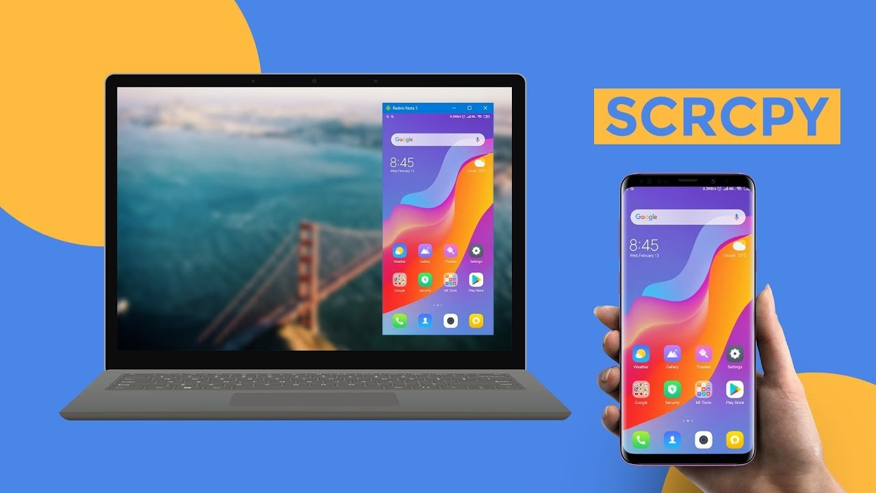 How to Setup GenyMobile Scrcpy - Display and Control Android Device from PC  (Screen Mirroring)