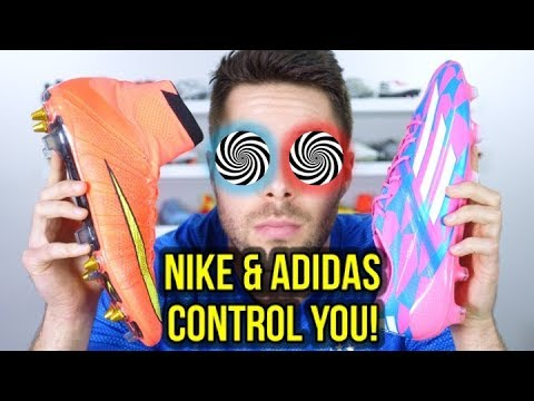 HOW NIKE & ADIDAS HAVE BRAINWASHED YOU INTO BUYING THEIR FOOTBALL BOOTS!