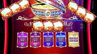 ★UNUSUAL BONUSES★!!! Dancing Drums Slot Machine Bonuses Won | LIVE SLOT Pay w/NG Slot