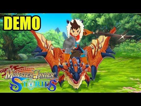 DEMO: Monster Hunter Stories | 1ª parte | 3DS