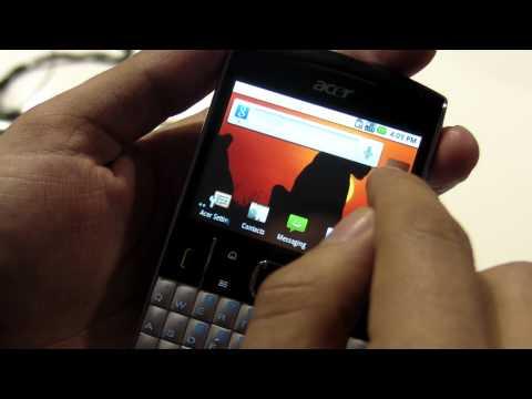 MWC2011 - Acer beTouch E210 review HD ( in Romana ) - www.TelefonulTau.eu -