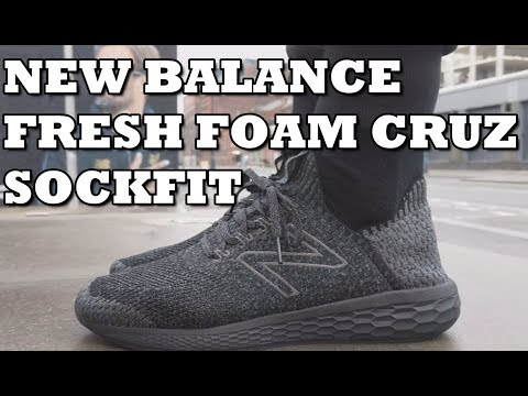 21b6455ced NEW BALANCE FRESH FOAM CRUZ SOCK FIT - on feet, comfort, weight,  breathability and price review