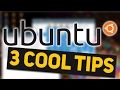 3 Ubuntu Tips You Didn't Know About // Linux Tips & Tricks