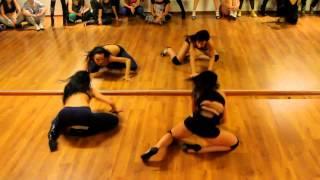 Choreography Katya Flash & Nastya Yrasova (Frame Up Strip) Dance Video