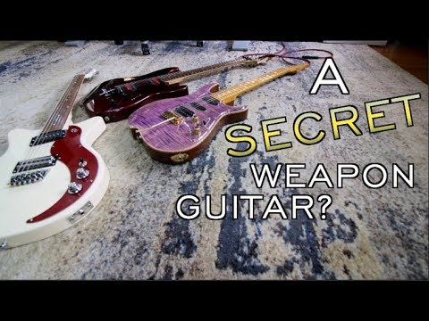 A Secret Weapon Guitar!