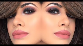 Instagram Glam! | Reddish Black smokey eye | Malvika Sitlani