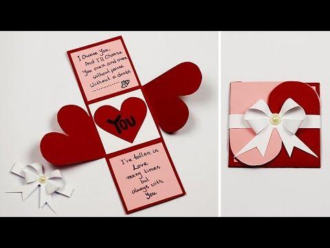 valentine's-day-cards- -love-greeting-cards-latest-design- -handmade-valentine-cards
