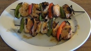How to - Chicken Kabobs on the Grill
