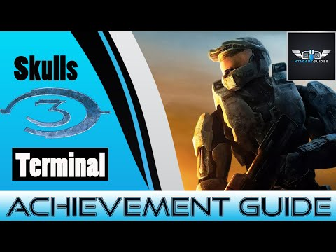 Halo 3 - Skulls & Terminal Location - Achievement Related Only
