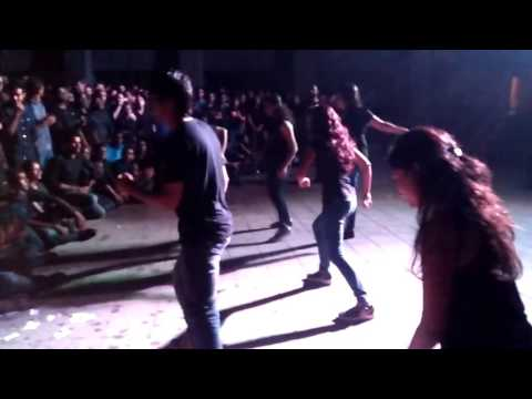IIM Indore Dance club performance on Freshers welcome night