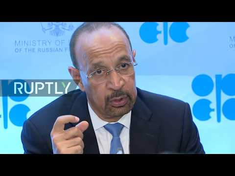 LIVE: OPEC leaders hold press conference in St Petersburg