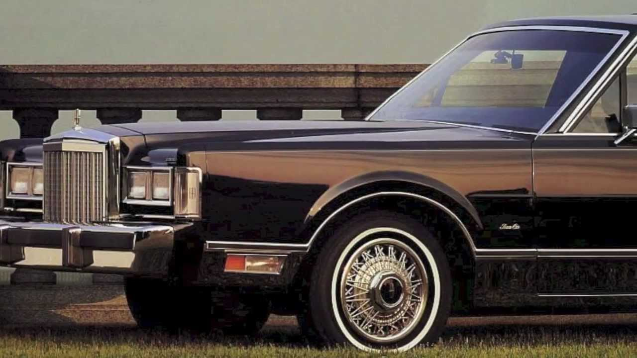 1988 Lincoln Town Car Sales Brochure Youtube