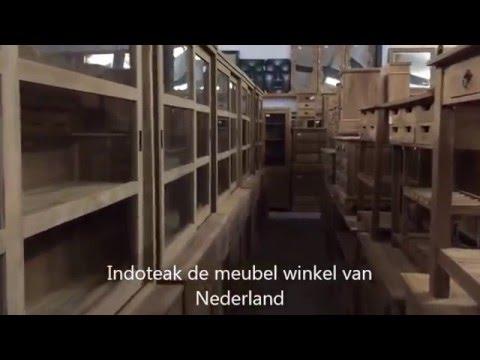 Indoteak Tv Kast.Showroom Van Indoteak Alphen Aan Den Rijn Youtube