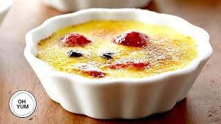 Fresh Berry Crème Brulee  Oh Yum with Anna Olson