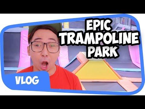 EPIC TRAMPOLINE PARK Experience !! [Vlog]