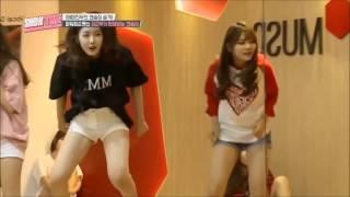 Video Let's Dance With Gfriend's  Maknae Line download MP3, 3GP, MP4, WEBM, AVI, FLV Agustus 2018