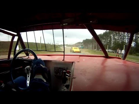 North Central Speedway Vintage Racers Full Body Heat Race 7/11/2015