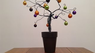 Halloween Wire Tree Part 1