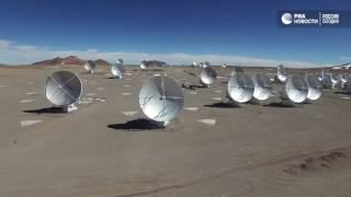 Телескопы в чилийской пустыне
